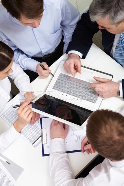 Business presentation Stock photo © pressmaster