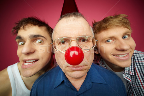 Three fools Stock photo © pressmaster