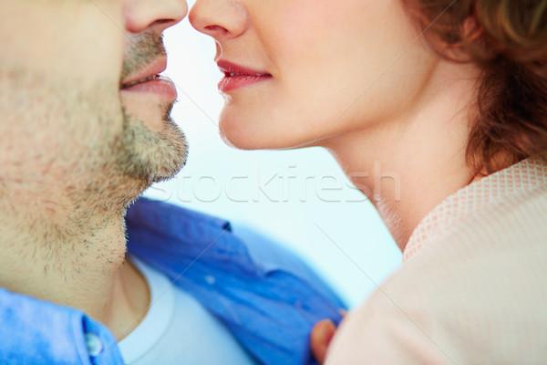 Сток-фото: чувство · любви · снизить · пару · тесные