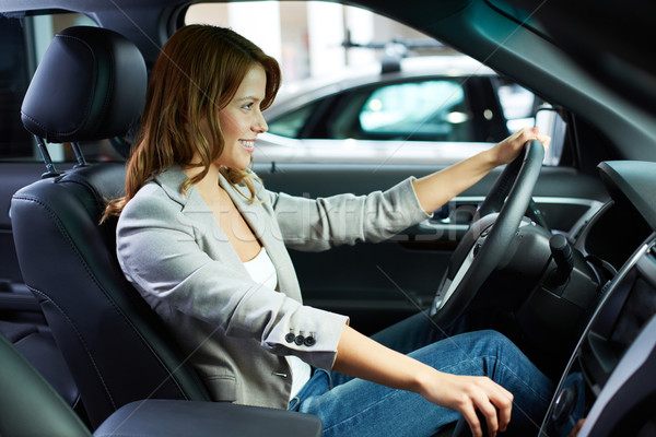 Learning to drive Stock photo © pressmaster