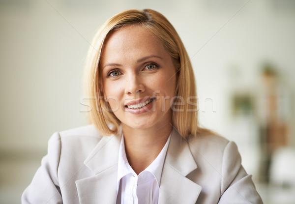 Pretty businesswoman Stock photo © pressmaster