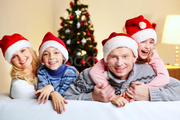 Family of Santas Stock photo © pressmaster