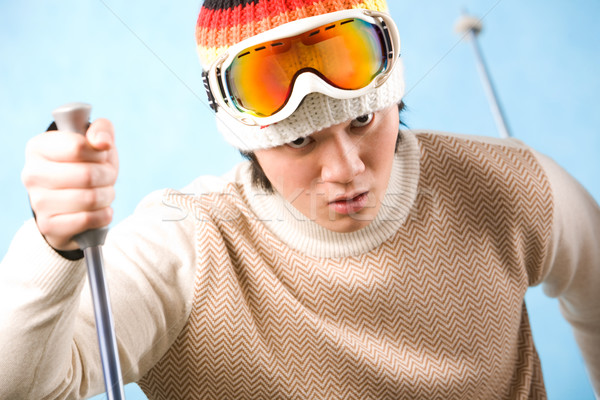 Skier Stock photo © pressmaster