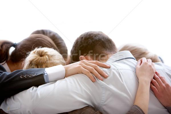 Zdjęcia stock: Grupy · myślenia · kółko · ludzi · biznesu · inny