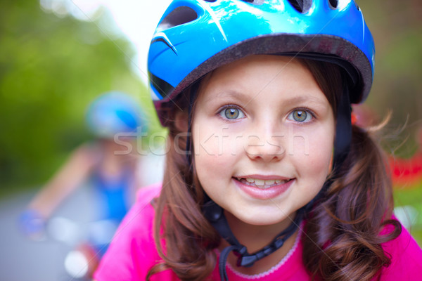 Cute cyclist  Stock photo © pressmaster