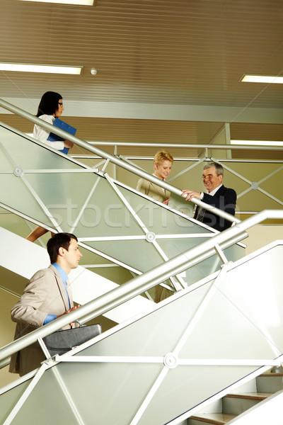 Busy people Stock photo © pressmaster