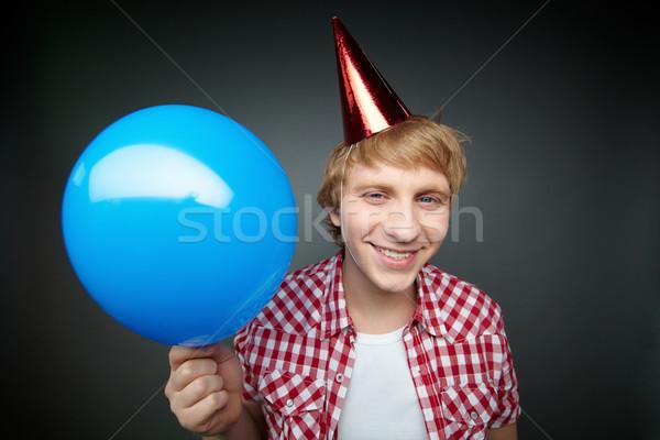 Boy with balloon Stock photo © pressmaster