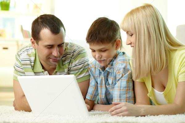Modern family Stock photo © pressmaster