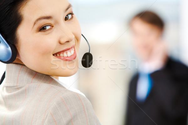 Customer support service  Stock photo © pressmaster