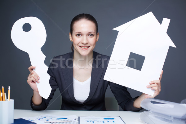 Realtor Stock photo © pressmaster