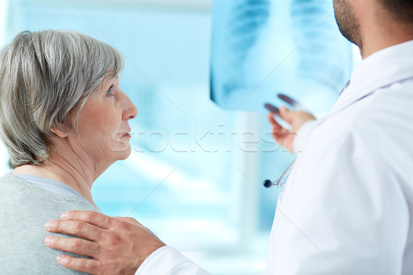 Anxious patient Stock photo © pressmaster