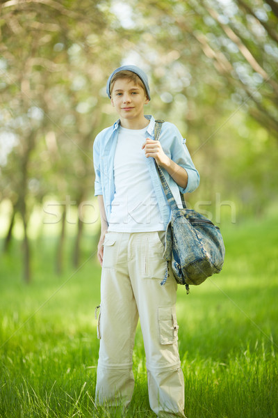 Lad in casual  Stock photo © pressmaster