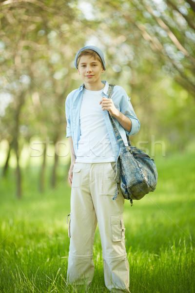 Chico casual retrato cute ropa mirando Foto stock © pressmaster