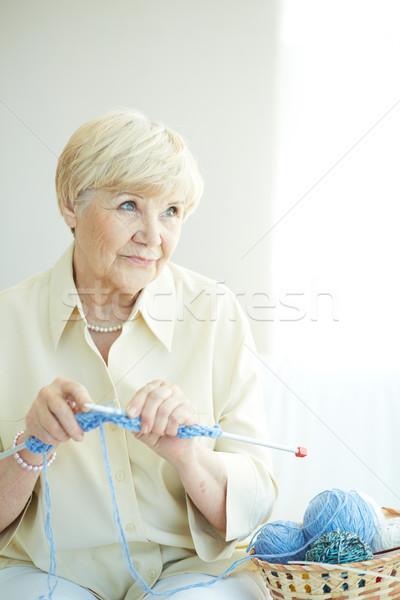 Knitting Stock photo © pressmaster
