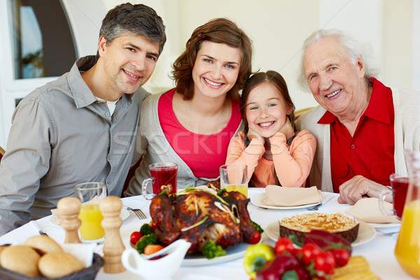 Thanksgiving dinner Stock photo © pressmaster
