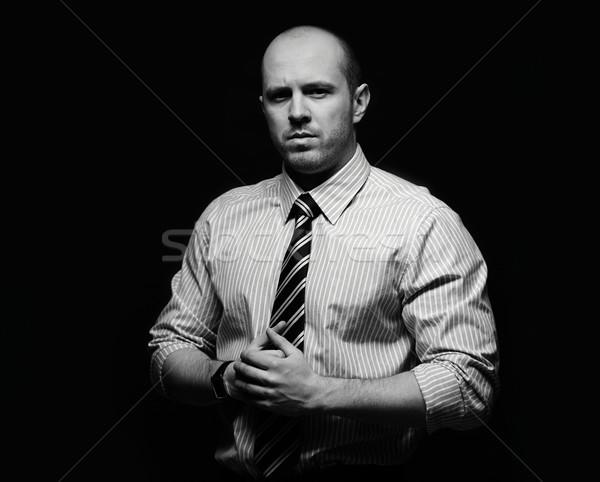 Man in formalwear Stock photo © pressmaster