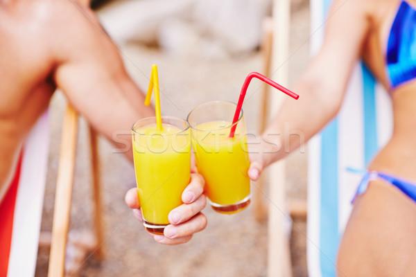 Summer toast Stock photo © pressmaster