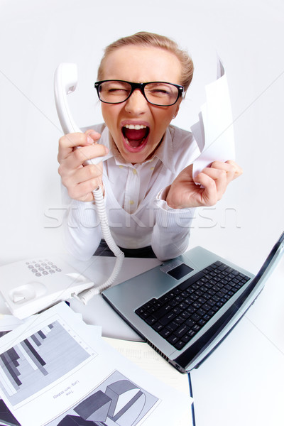 Stock photo: Anger