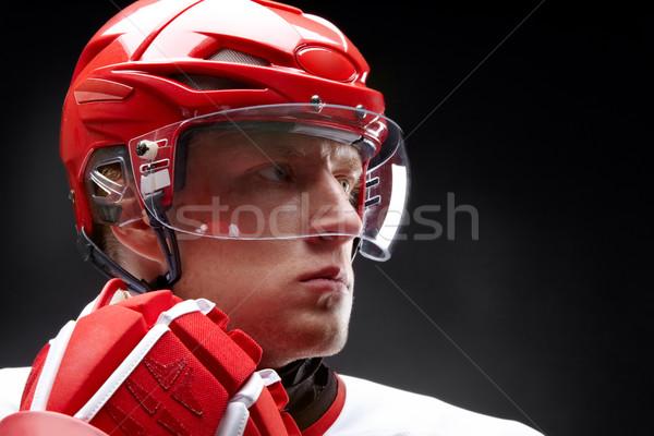 Hockey-player Stock photo © pressmaster