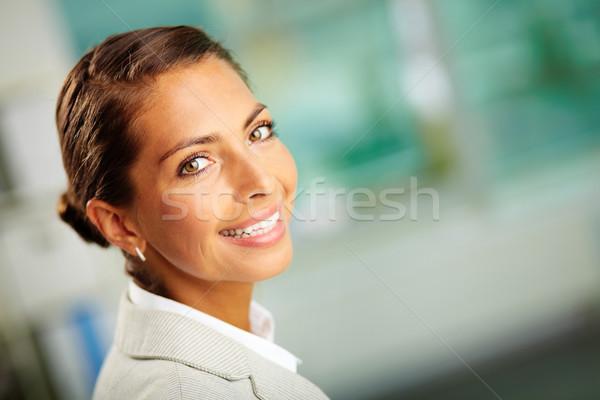 Empleador retrato exitoso negocios líder mirando Foto stock © pressmaster