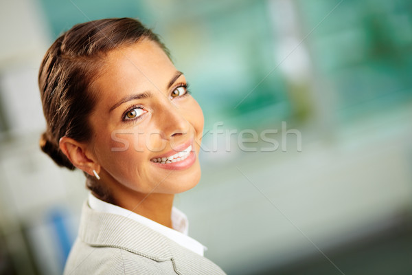 Werkgever portret geslaagd business leider naar Stockfoto © pressmaster