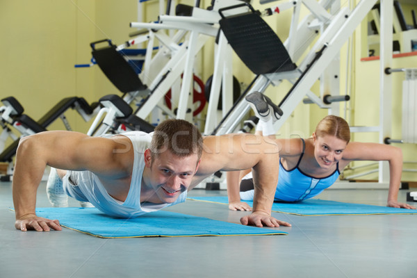 Sports practice Stock photo © pressmaster