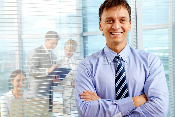 Happy boss Stock photo © pressmaster