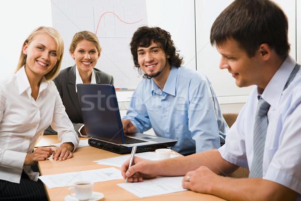 Well organized partners Stock photo © pressmaster