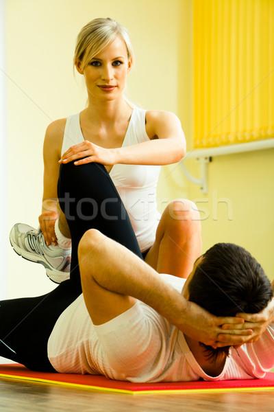 Physical training Stock photo © pressmaster