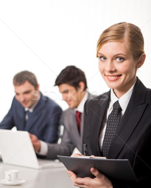 Сток-фото: молодые · лидера · портрет · привлекательный · бизнеса · Lady