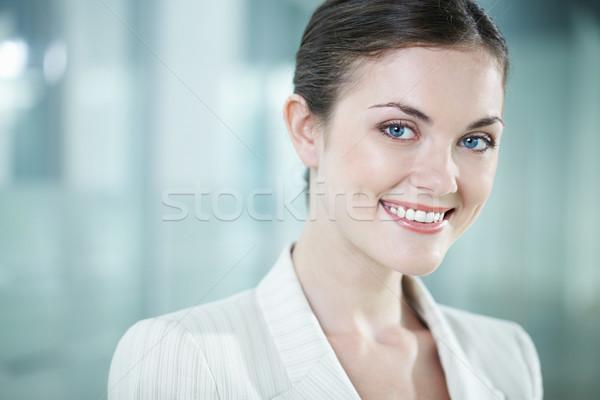 Beautiful clerk Stock photo © pressmaster