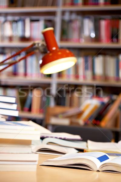 In library Stock photo © pressmaster