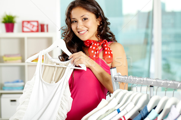 In clothing department Stock photo © pressmaster