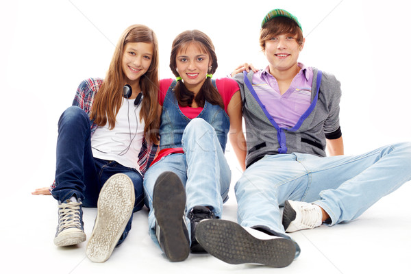 College mates Stock photo © pressmaster