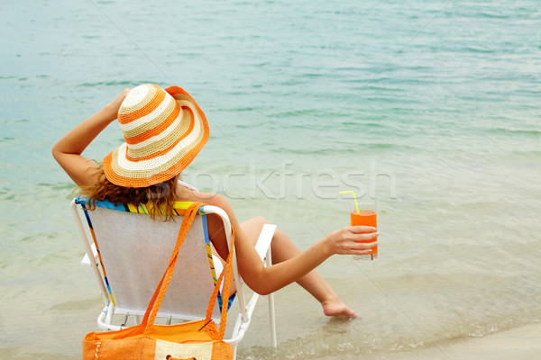 Refreshing female Stock photo © pressmaster