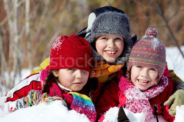 Cute children Stock photo © pressmaster