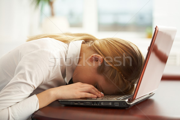 Exhausted Stock photo © pressmaster