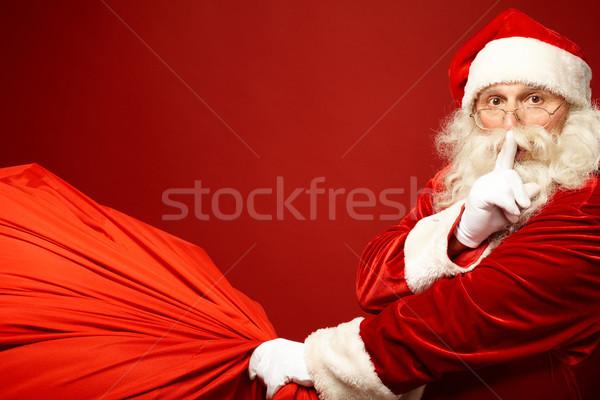 Santa coming Stock photo © pressmaster