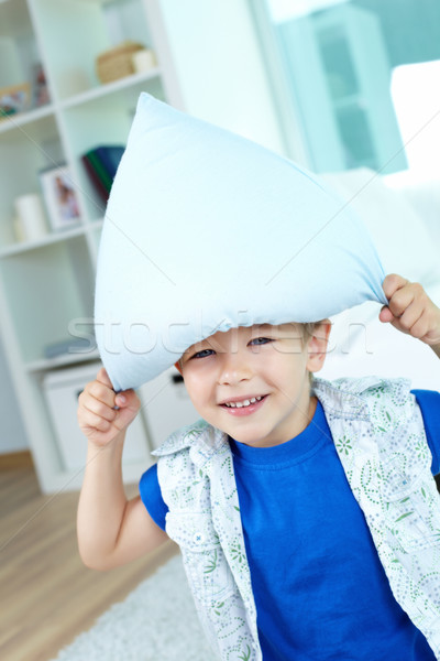 Stock photo: Pillow fun