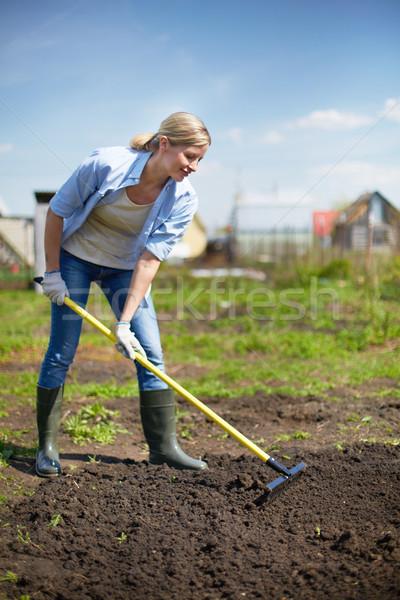 Female gardener Stock photo © pressmaster