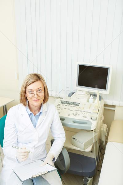 Friendly obstetrician Stock photo © pressmaster