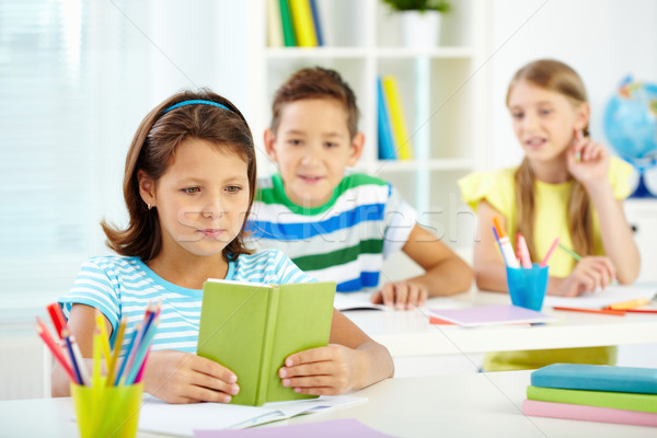 Stock photo: Kids at lesson