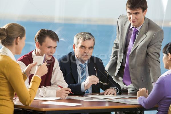 Stock photo: Work planning