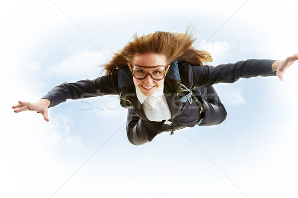 Parachutist Stock photo © pressmaster