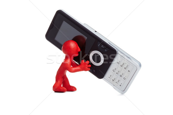 Cellphone Stock photo © pressmaster