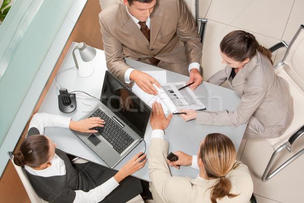 Stock photo: Office work