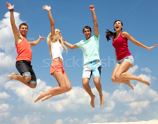 Summer leap Stock photo © pressmaster