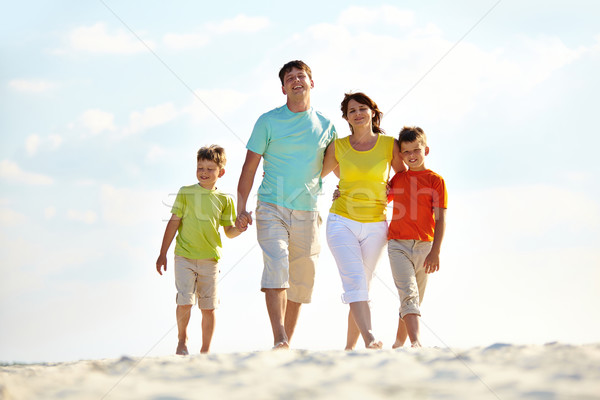 Stock photo: Walk on the beach