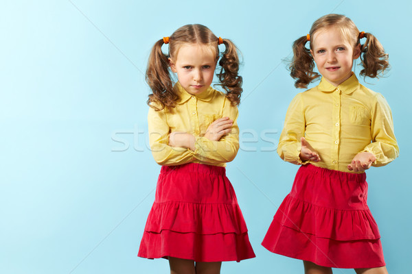 Bad twin/Good twin Stock photo © pressmaster