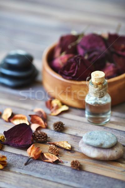 Beauty care composition Stock photo © pressmaster
